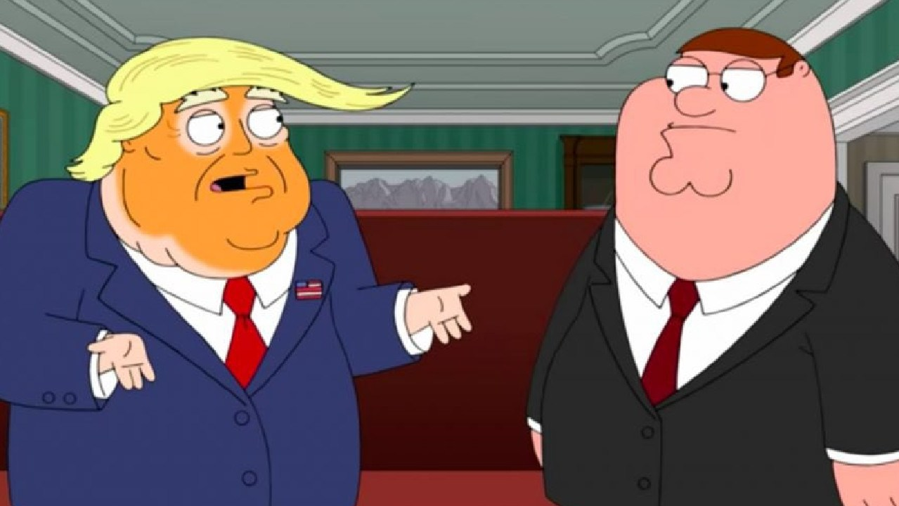Donald Trump, meet Peter Griffin.