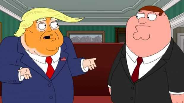 Donald Trump, meet Peter Griffin.