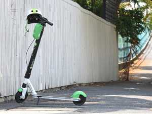 Man critical after falling from Lime Scooter