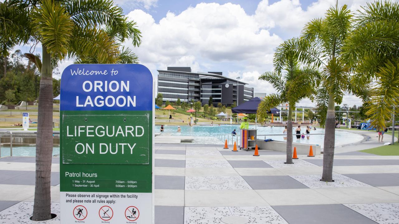 Springfield has its own lagoon. (AAP Image/Richard Walker)