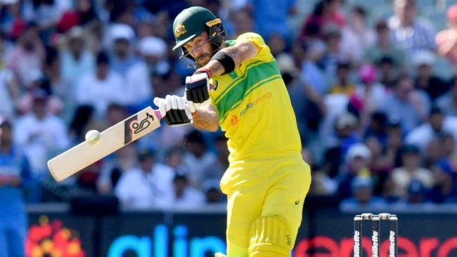 Glenn Maxwell chipped in with a useful 48 for Australia