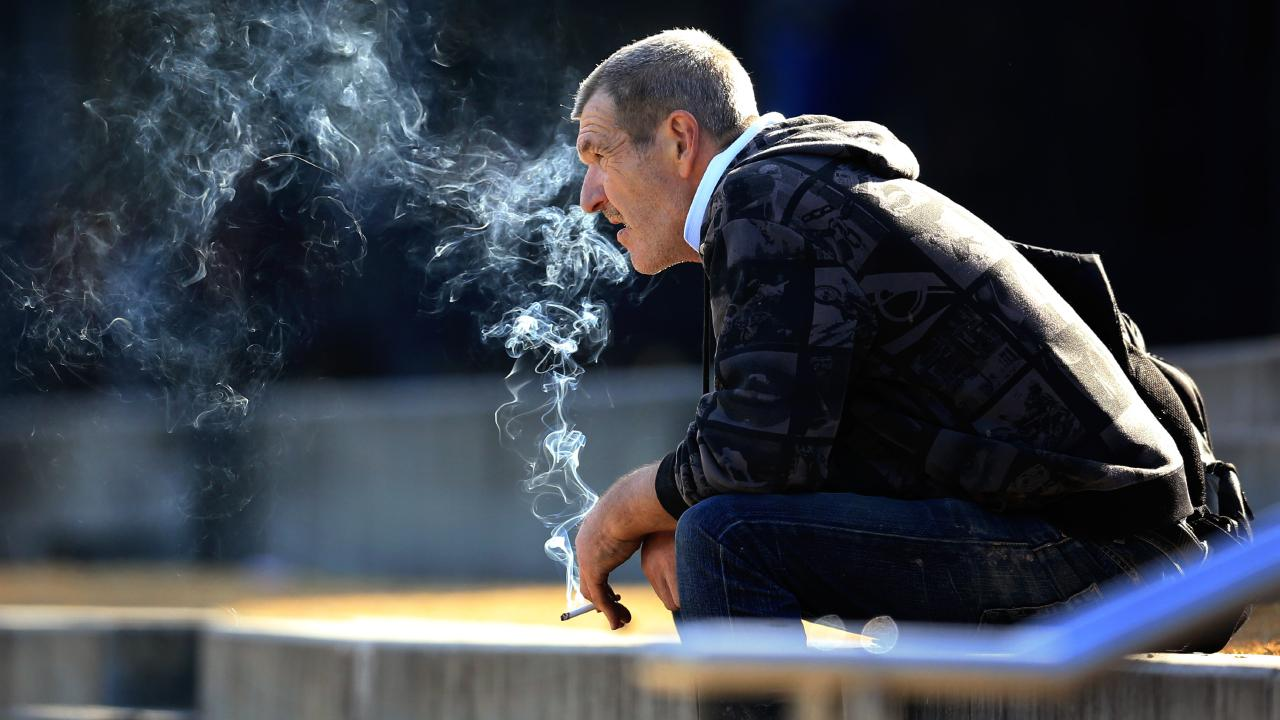 Startling analysis has found Australians are blowing $14 billion a year on cigarettes. Picture: Mark Evans