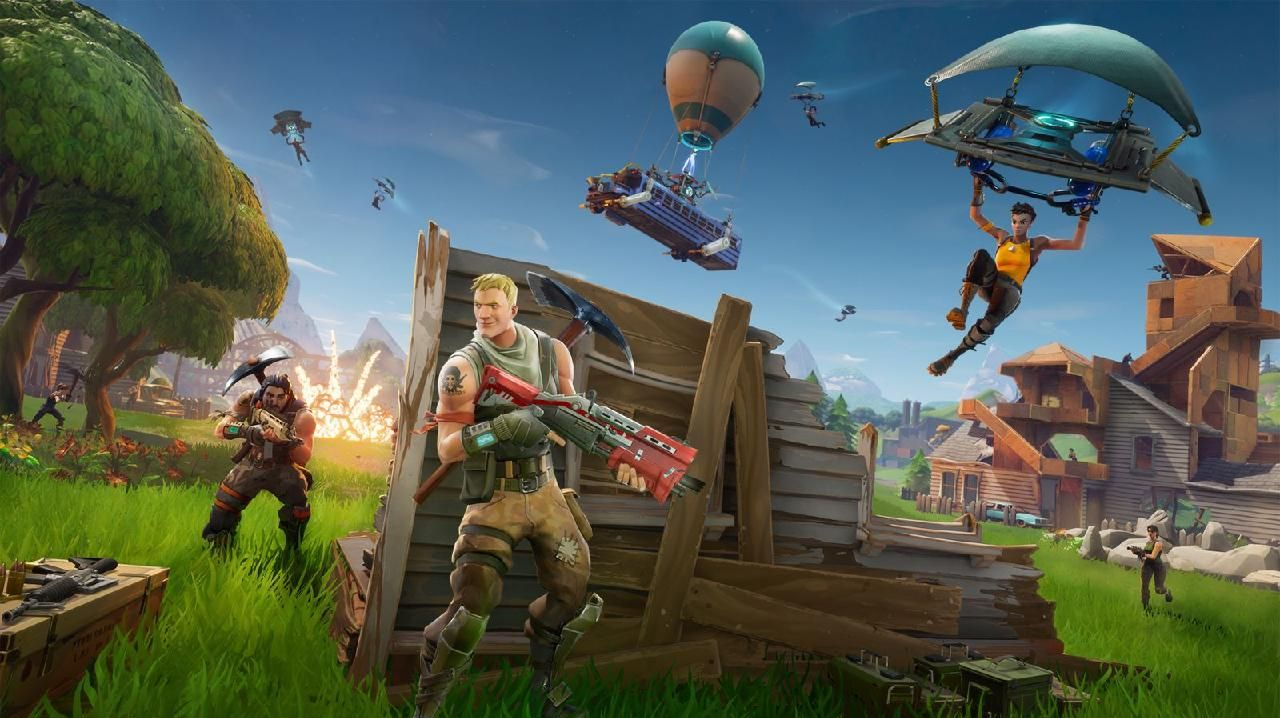Fortnite mixes with the Australian Open in a hybrid gaming-sporting contest.
