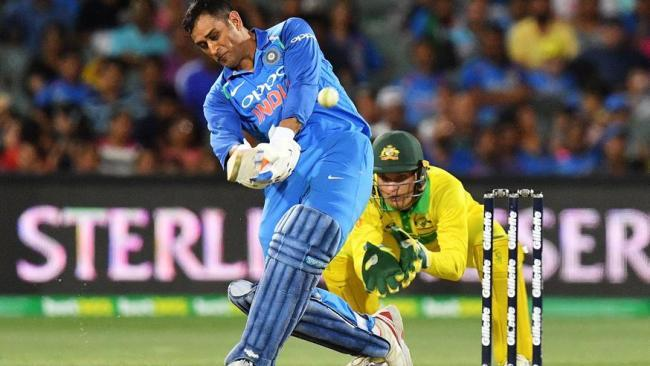 MS Dhoni helped close out the win for India