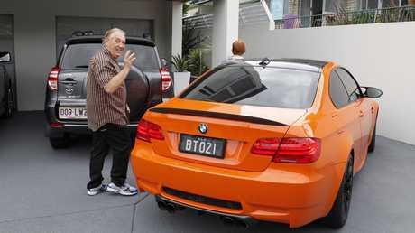 Bernard Tomic's infamous orange BMW.