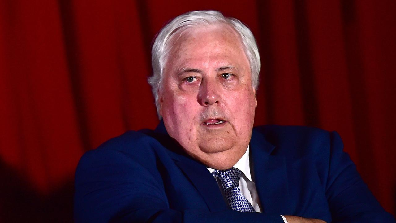 Clive Palmer launched the United Australia Party last year and promised to run a candidate in every seat. Picture: Shae Beplate