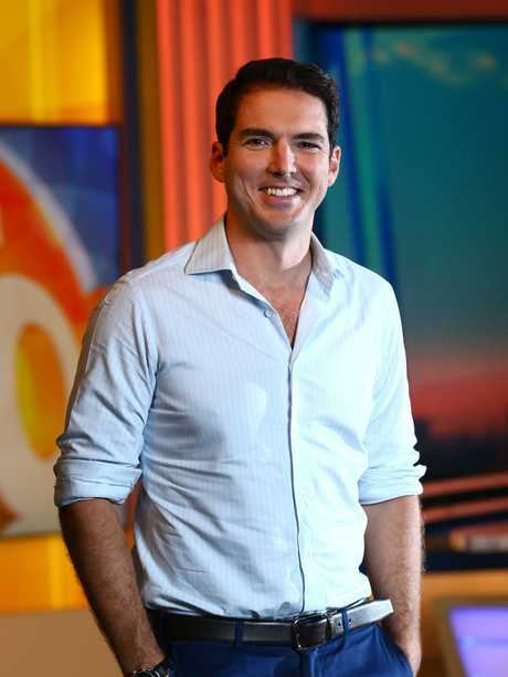 Former Nine talent Peter Stefanovic. Picture: Britta Campion