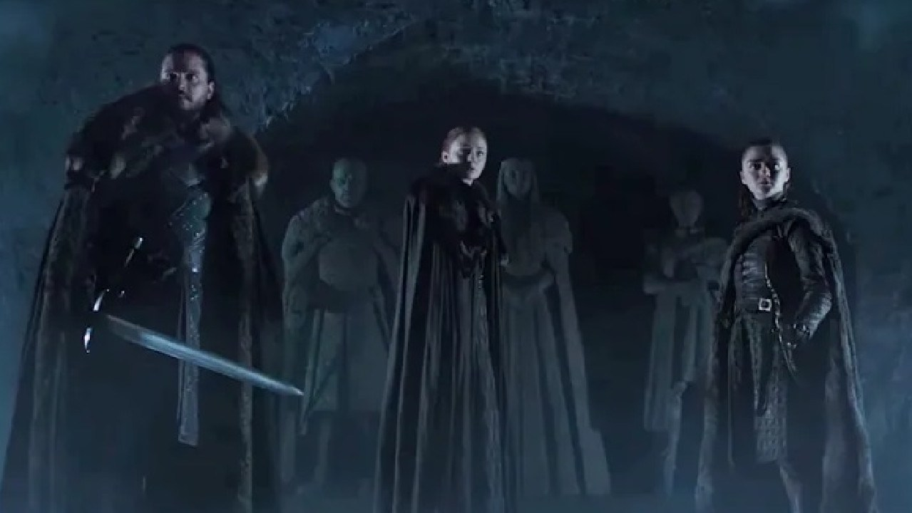The Stark children are facing more mortal danger in the final season.