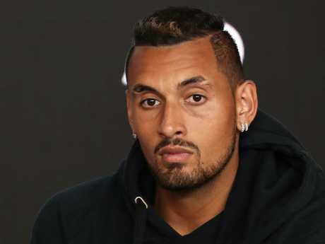 Nick Kyrgios wasn't upset to be thrown under the bus.
