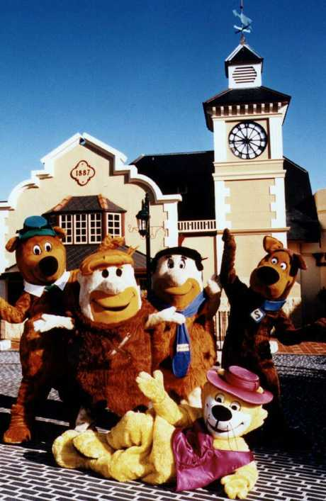 All your favourite characters were featured at the theme park.