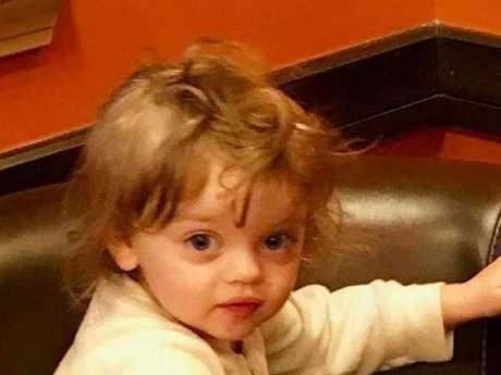 Sofia Van Schoick, 2, was described as 'smart' and 'precocious'.