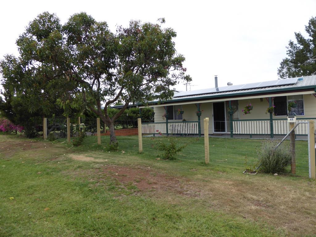 the Blackbutt house left to Mireille Appert by her late uncle John Appert.