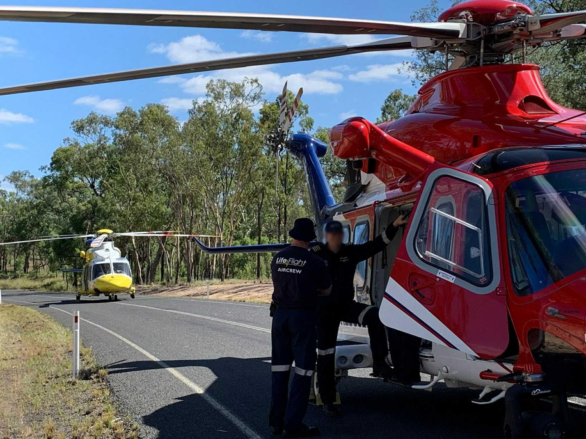 Police are investigating a fatal crash in Proston.