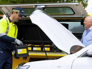 What causes the most RACQ call-outs in the Darling Downs