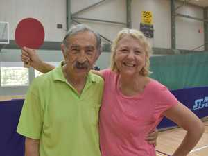 One of Noosa Seniors Table Tennis Club's best player