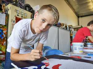 SUNfest: Jack Bacrnsley, 11, and Lincon Pattendreigh