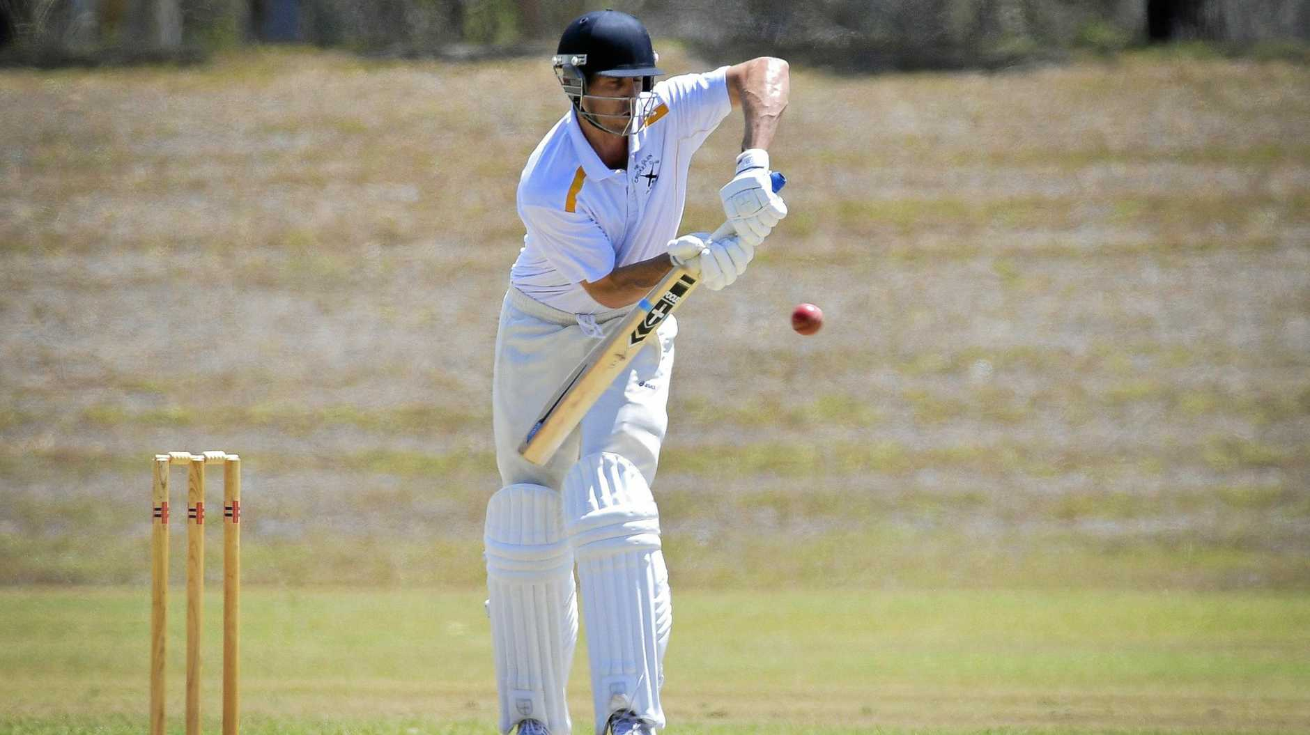 Jason Seng made a good 53 in the Cricket Frenchville Sports Club Capricorn Challenge match against BITS.