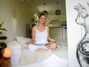 Yeppoon woman tackling anxiety with the arts