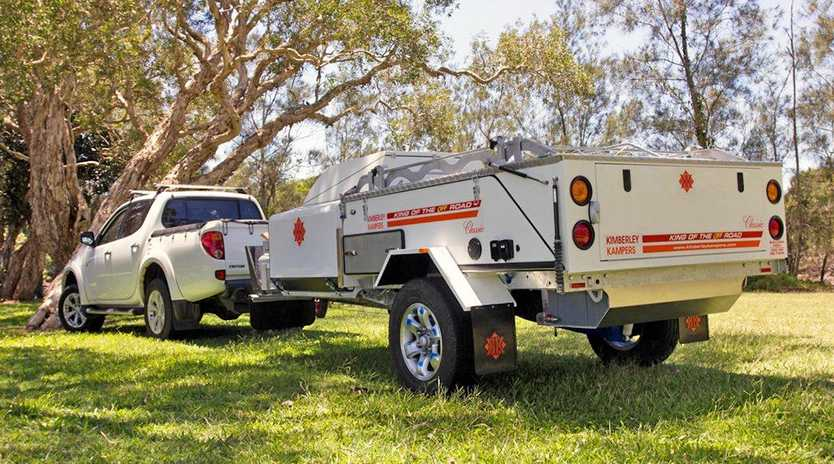 INNOVATION AHEAD: The new owners of Kimberley Kampers said they are determined to keep manufacturing in Ballina while sourcing global technology.