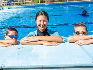Like a duck to water for new swim instructor