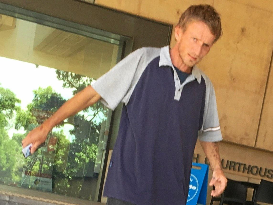 SENTENCED: Joshua Glenn James O'Farrell, 30, from North Booval, leaves Ipswich Magistrates Court,