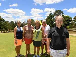 The top 5 players of Gympie ladies golf