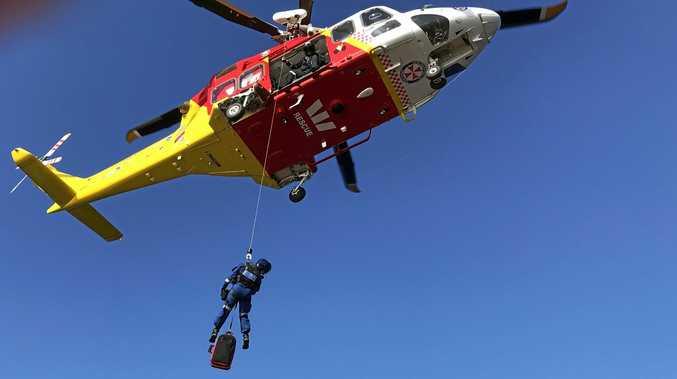 Cruise ship emergency sees chopper tasked off coast