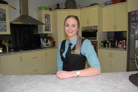 DREAM BIG: McKennan McIndoe kick started her hospitality dream working at the Irish Village.