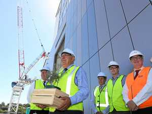 Remarkable achievement: Hospital tower hits milestone