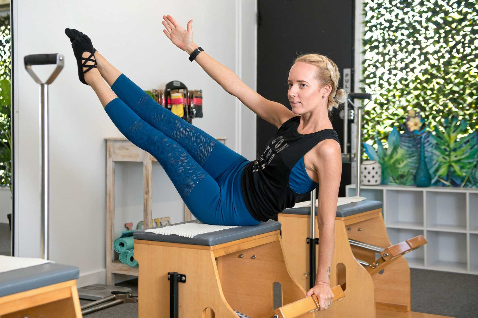 Unica Estabillo is one of the instructors at Pilates Addicts.