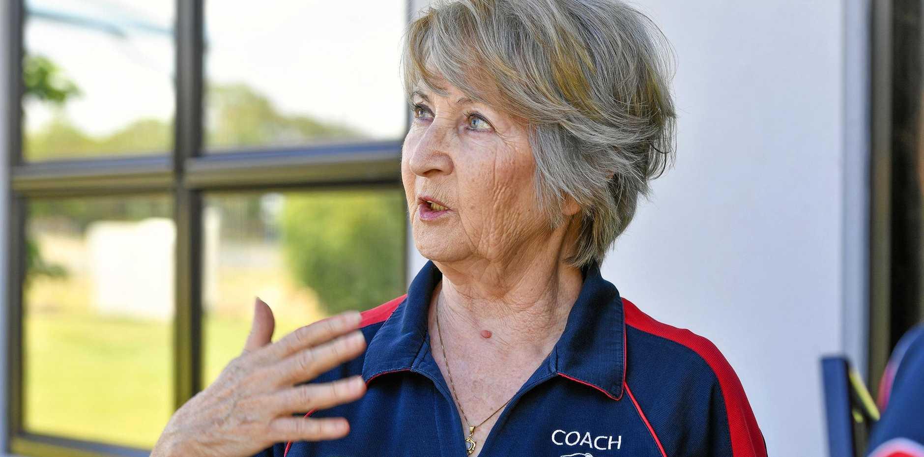 Anna Turetschek head coach at Gladstone Gymnastics.