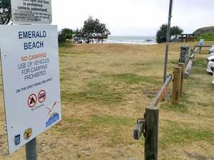 Beach closed as locals complain of foul odour