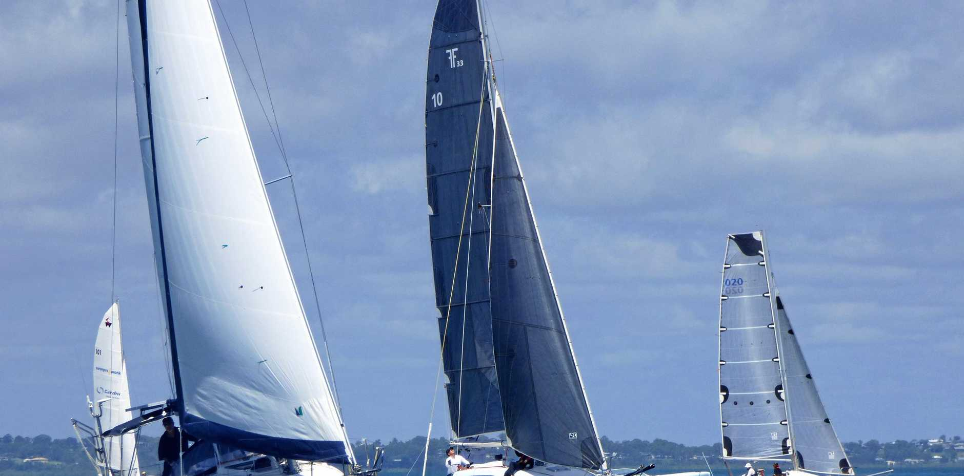 BREEZY SAILING: More than a dozen boats are expected to take to the water for the 27th Kingfisher Bay Resort Regatta next week.