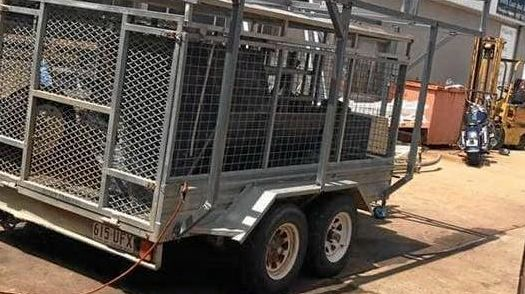Concreter Adam Hill is calling for any information that can help him find a work trailer that was stolen from King St in Shelley Beach on January 10.