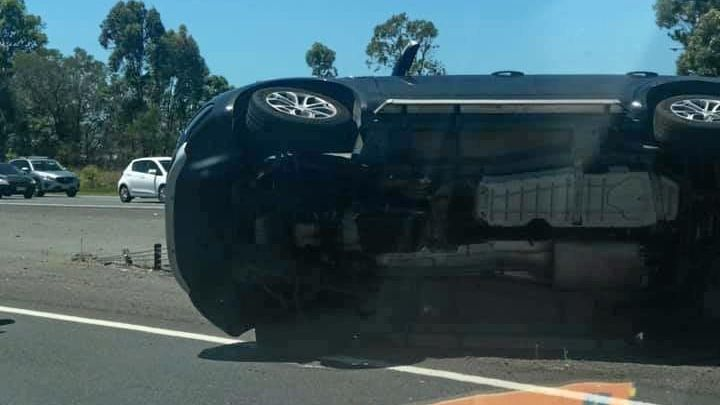 Drivers are experiencing heavy traffic after a crash on the northbound lanes of the Bruce Hwy this afternoon.