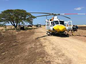 Helicopter called to quad bike rollover