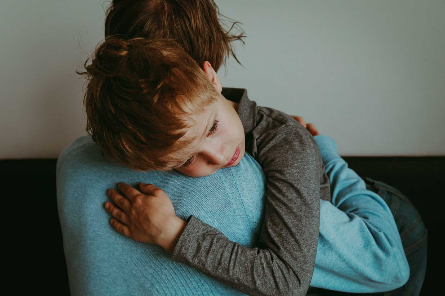 Never underestimate the value of a long and loving hug.