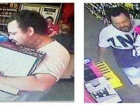 Theft from liquor store: Police hunt man