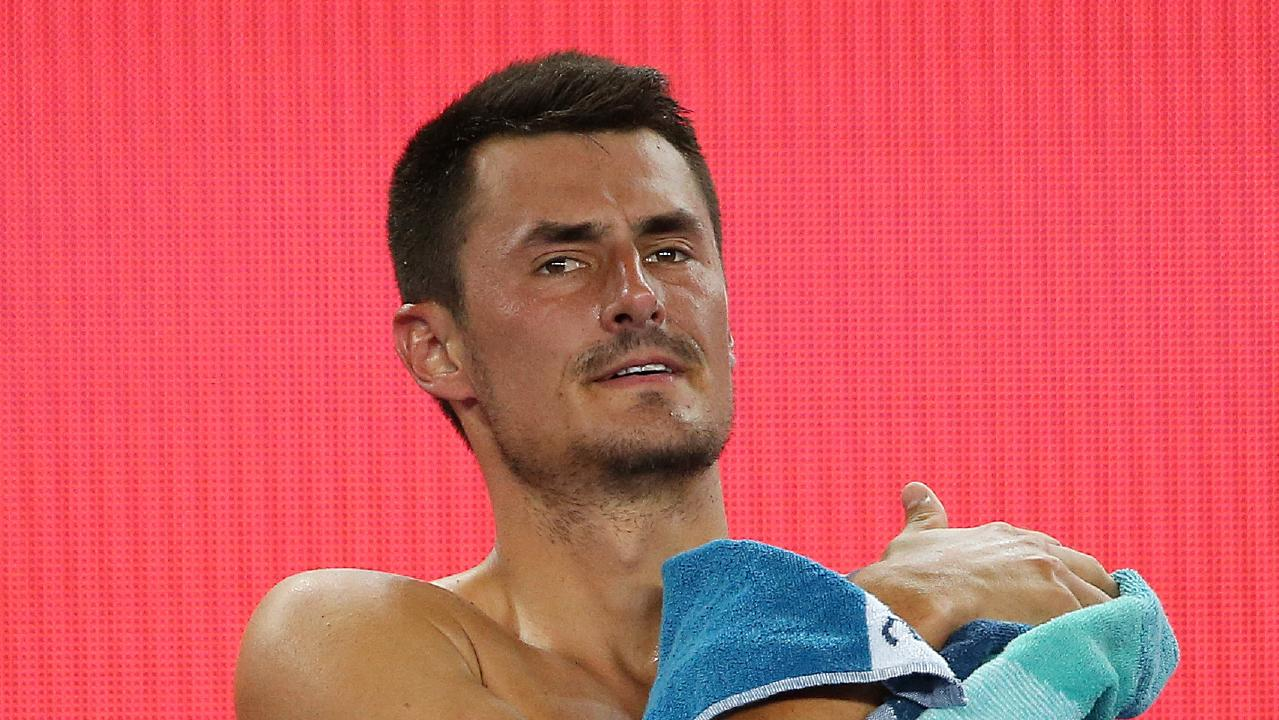 Bernard Tomic seems comfortable stirring the pot. Picture: Michael Klein