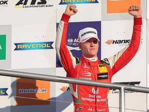 Schumacher's son closing in on spot with Ferrari