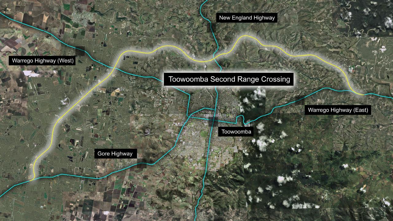 Toowoomba Second Range Crossing