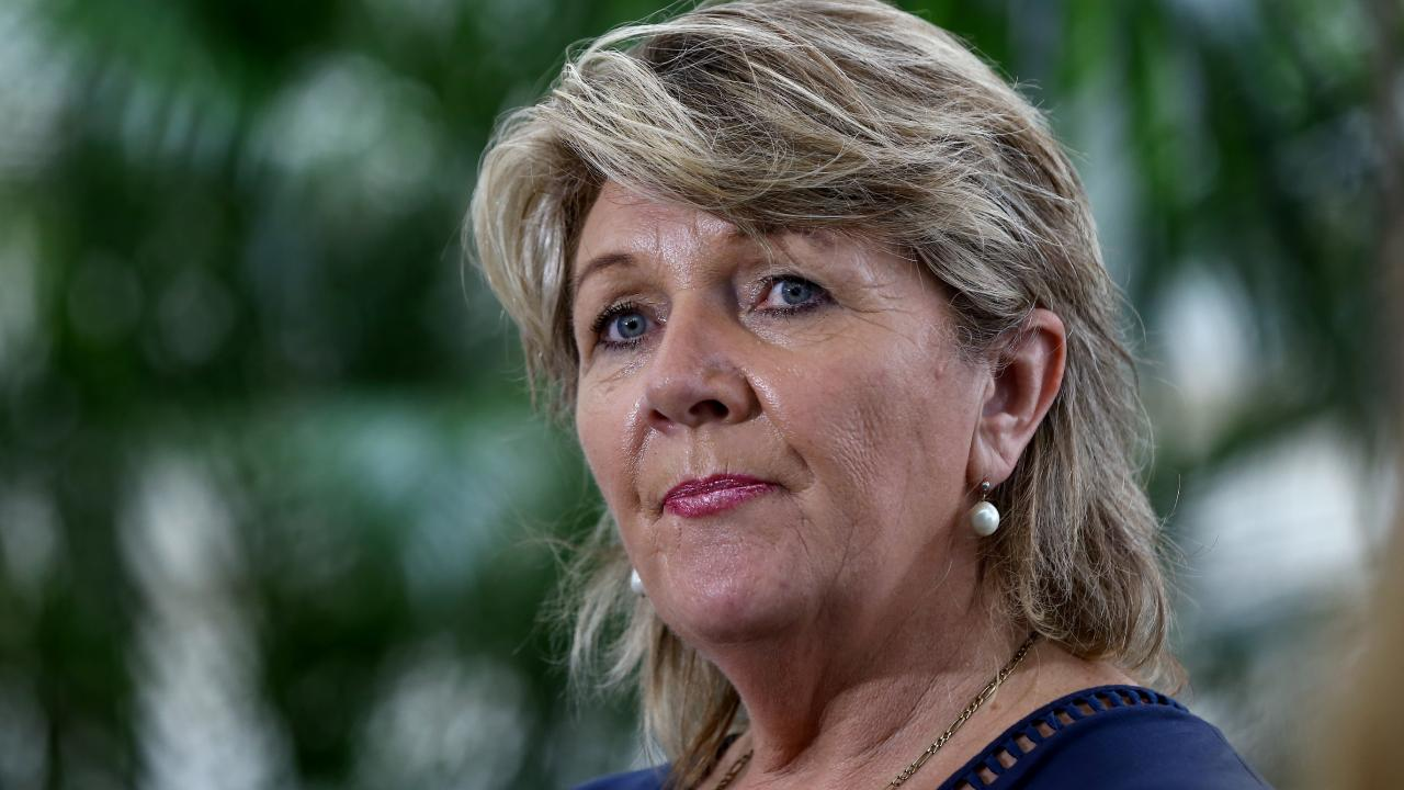 Braveheart's Hetty Johnston said she believed Fardon would re-offend. Picture: AAP/David Clark