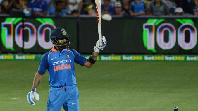 Virat Kohli has cracked his 39th century from his 218 one-day internationals.