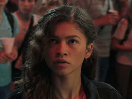 Zendaya stars as Spider-Man's love interest Michelle in the blockbuster flick.