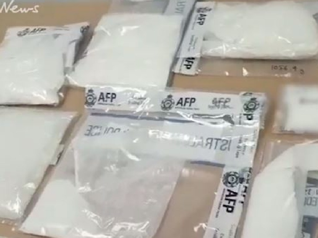 Drugs seized by AFP and Border Force in Melbourne.