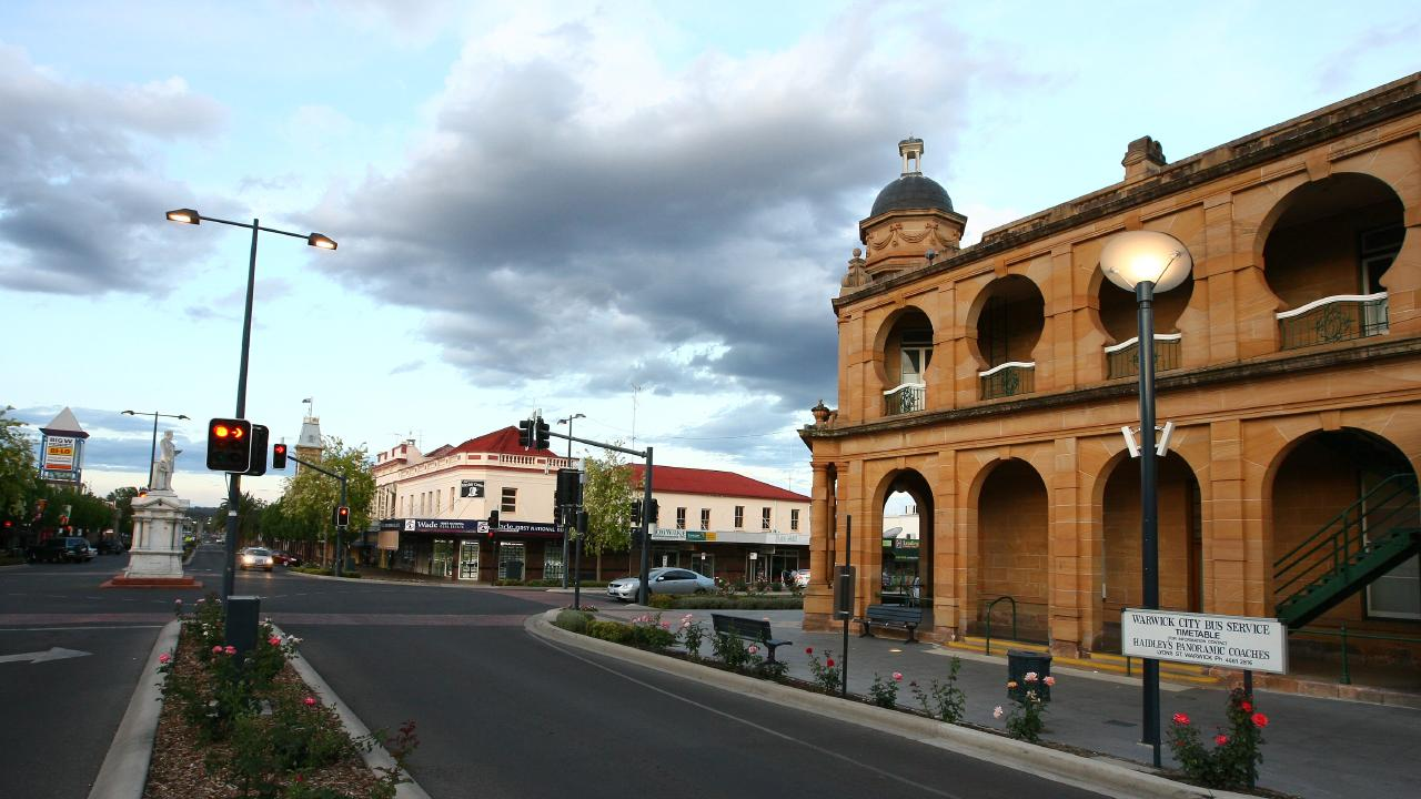 Warwick was the only other Queensland town to make the list.