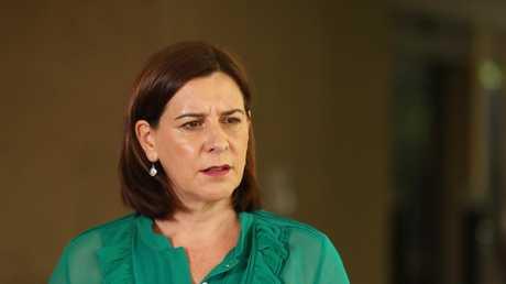 Queensland Opposition Leader Deb Frecklington slammed the unsupervised release. Picture: Liam Kidston