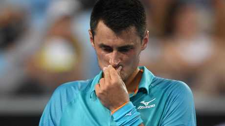 Bernard Tomic has a frosty relationship with the media.