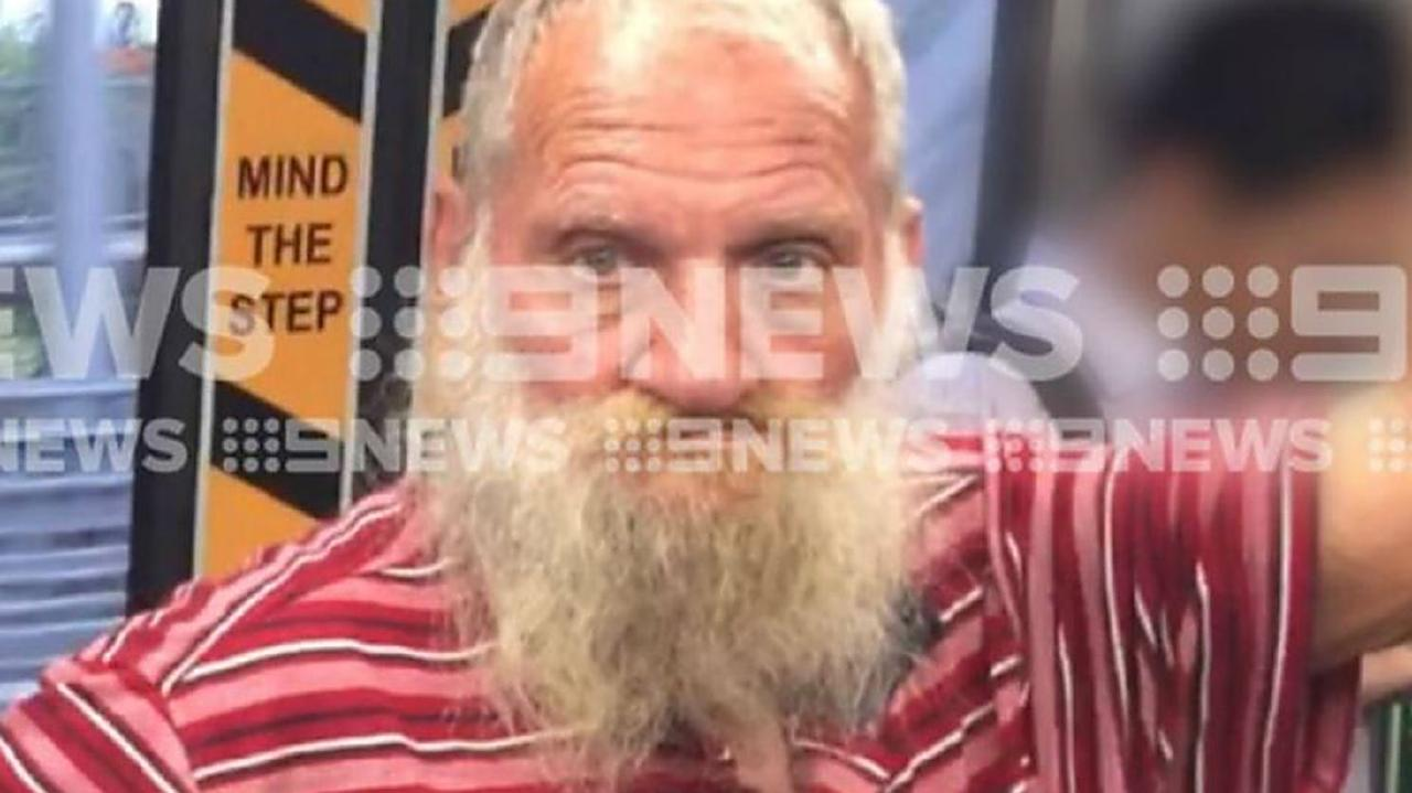 A 9 News picture of Robert John Fardon, who has been living wihtout supervision in southeast Queensland.