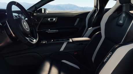 The interior features a range of premium materials.